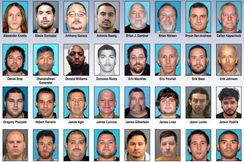 79 alleged sex offenders arrested in N.J. operation